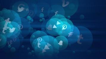 Symbole sozialer Netzwerke video