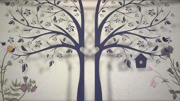 árvore de casamento de movimento