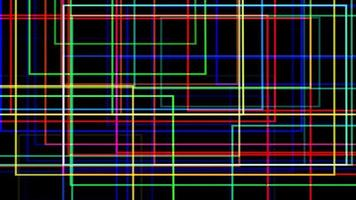 Abstract Light Grid Animation