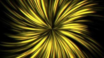 sfondo di raggi gialli video