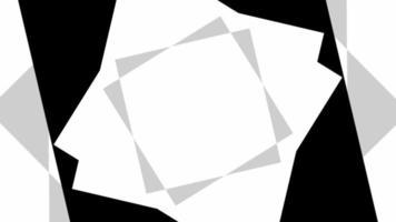 cor de tom quadrado preto e branco abstrato video