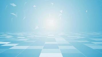 alta tecnologia de fundo geométrico azul