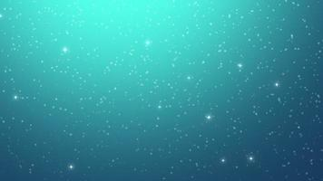 Snowflakes and Stars Background