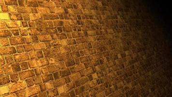 Alley brick wall