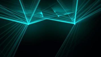 fundo de linhas de néon azul video