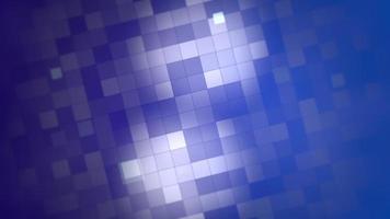 movimento dos quadrados azuis