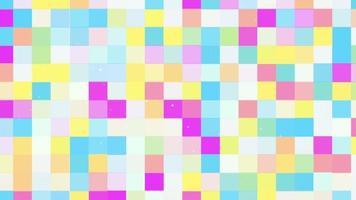 pixel geometrici sfondo astratto
