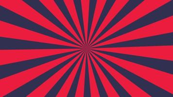 Red and dark blue stripes are spinning slowly.