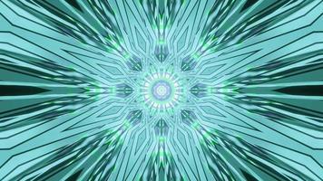 Boucle de spectre abstrait psychédélique 4k, rendu 3d vj
