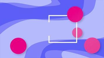 modelo geométrico e corporativo elegante video
