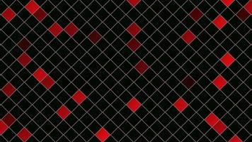 quadrados vermelhos abstratos