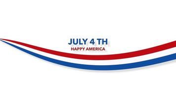4 juillet et amérique heureuse video