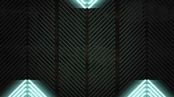 fondo de rayas de luces verdes video