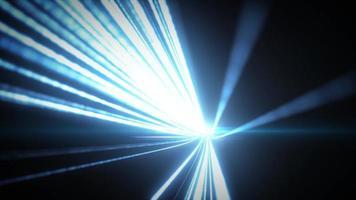 Luzes 3d brilhantes abstratas com traços de fundos
