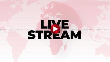 introdução da transmissão ao vivo