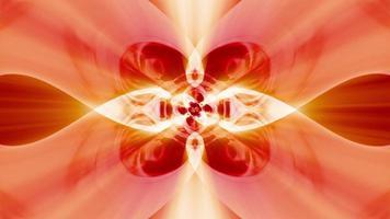 astratto rosso energia onda vj loop con ritmo ipnotico