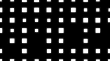 sfondo veejay con ciclo di animazione di luci lampeggianti video