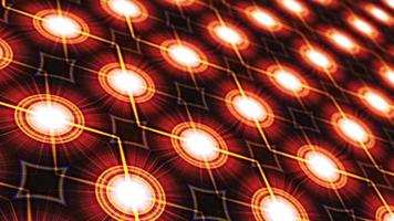 padrão de placa de circuito de matriz digital de transição de loop