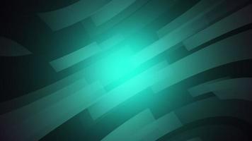 elegantes líneas verdes en movimiento