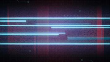Neon Lines and Matrix Grid video
