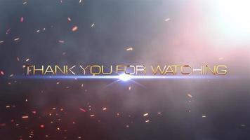 obrigado por assistir o trailer cinematográfico video
