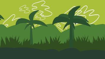desenho animado animação palmas na montanha video