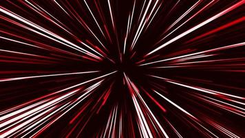 Circular Geometric Red Light Explosion