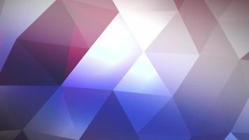 triângulos poly low blue video
