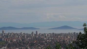 paysage des îles princes à istanbul video