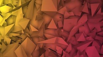 rode en gele driehoeken vormen