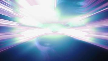 forme di luce astratte luccicano