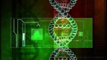 DNA-Analyse Hintergrund