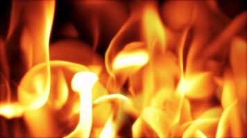 Abstract Flame Background video