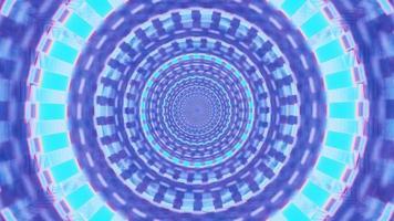 buco 3d luminoso in movimento veloce 4k uhd rendering vj loop