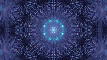fond de fleur centré sur une étoile video