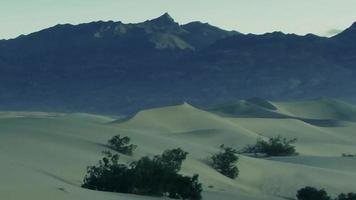 dunas de areia do deserto ao vento
