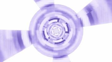 hypnotische kreisförmige 3D-Rendering-Passage 4k uhd vj Schleife