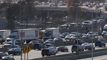 snelwegverkeer samenvoegen