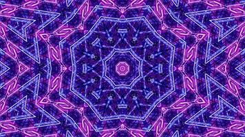 Renderização 3D em tons de rosa e roxo vj loop