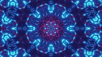 estrela azul lanterna vj loop