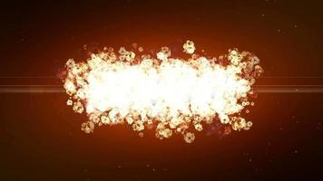 Dust Particle Explosion and Expansion