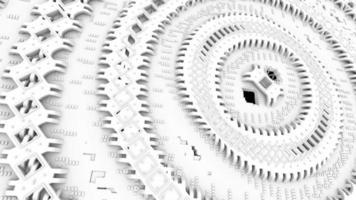 máquina de nanotecnología futurista video