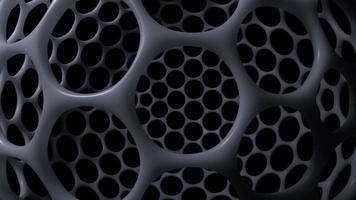 estructura nano molecular futurista