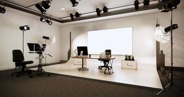 News Studio on A White Room