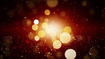 Abstract festive looping background