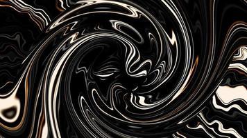 verdrillte Linien des dynamischen Wirbelmusters fließen schnell Schleife video