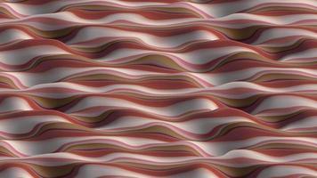 ondas abstratas vermelhas