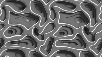zwarte abstracte gaten