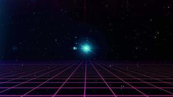 fundo de ficção científica futurista