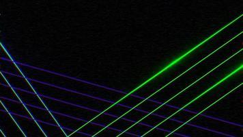 linhas azuis e verdes video